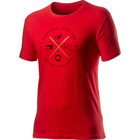 Castelli Sarto Tee Men red